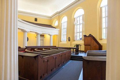 Gottesdienstraum der Reformierten Kirche - Copyright: Reformierte Kirche Lübeck